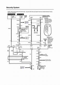 security system 1997 honda passport parking system repair guides wiring diagrams wiring diagrams 8 of 27 autozone com