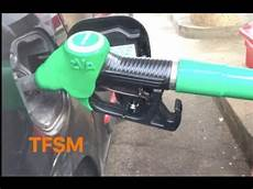 comment bloquer le pistolet de la pompe 224 essence tfsm