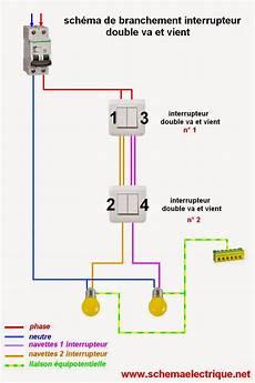 Schema Branchement Cablage Interrupteur Va Et Vient