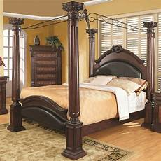 Beds With Posts new prado formal traditional cherry finish wood four post
