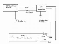 Wiring Diagram For Heater by Wiring Diagram For 220 Volt Baseboard Heater