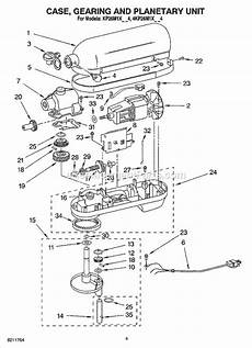 Kitchenaid Parts Order by Kitchenaid Kp26m1xpm4 Parts List And Diagram