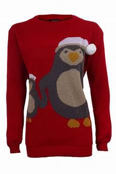 damen weihnachten pom baby pinguin lang 228 rmlig warm
