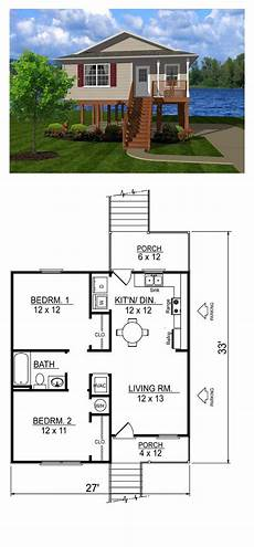 minecraft house floor plans coastal house plan 96701 total living area 736 sq ft