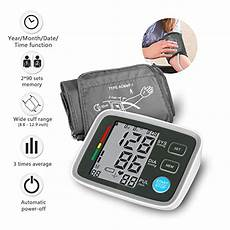 do automatic blood pressure machines read high clinical automatic upper arm blood pressure monitor portable high accuracy readings with easy