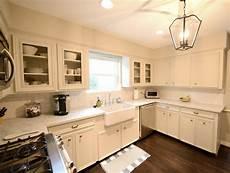 cream cabinets transitional kitchen cote de texas
