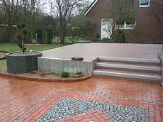 Terrassen Treppen In Den Garten - mein neuer garten