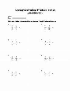 fraction subtraction unlike denominators worksheets 3904 motivating minds in 4th grade teaching resources teachers pay teachers