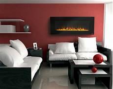 rote wandfarbe wandgestaltung ideen rote wandfarbe wei 223 e dekokissen
