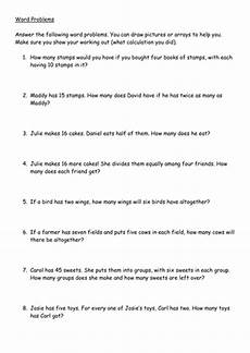 multiplication word problems worksheet by hannahw2