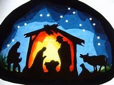 Fensterbilder Vorlagen Weihnachten Krippe Transparentfensterbild Krippe Allerlei