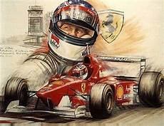 Formel Eins Fahrer - michael schumacher 1996 artwork schumi