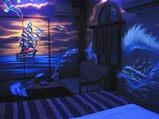 the room by black light photo