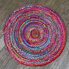 teppich rund bunt bunt runder teppich