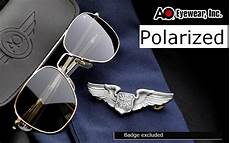 new ao flyer military 57 mm 52mm men metal polarized sunglasses by american optical brand