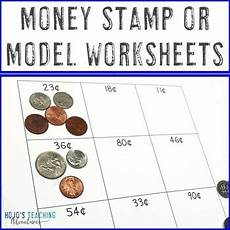 money worksheets up to 1 00 2353 counting money worksheets st or model up to 1 00 distance learning