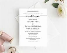 diy wedding invitation printable 183 wedding templates and printables