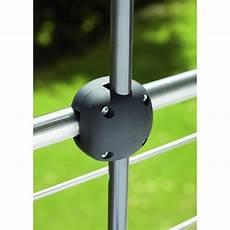 attache parasol pour balcon pince de fixation balcon foxi noir leroy merlin