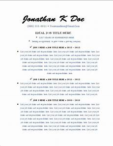 the employment insider quot guaranteed call quot free premium resume template download