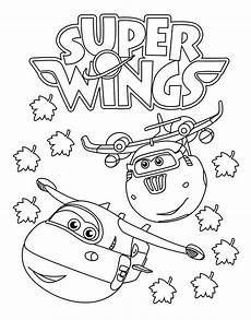 wings kleurplaat jett wings jerome pronto per