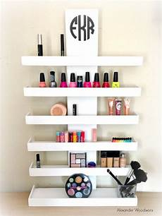 wall mounted makeup shelf makeup organizer nail