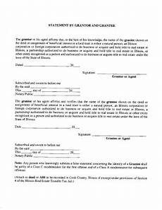 grantor grantee affidavit cook county recorder of deeds form fill out and sign printable pdf