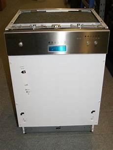 Einbau Spülmaschine 60 Cm - exquisit einbau sp 252 lmaschine 60 cm edelstahlbedienblende