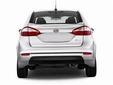 Image 2014 Ford Fiesta 4 Door Sedan S Rear Exterior View