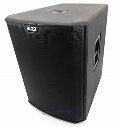 pa powered subwoofers alto ts218s powered 18 quot active pa subwoofer marked whybuynew