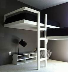 lit mezzanine design lit mezzanine deux places fonctionalit 233 et variantes