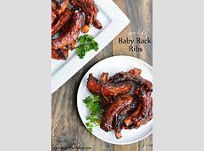 Baby Back Ribs   Garnish & Glaze