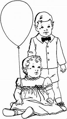 Bruder De Ausmalbilder Bruder Mit Schwester Ausmalbild Malvorlage Kinder