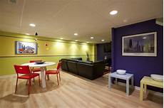 modern colorful basement contemporary family room orange county by katharyn hansche