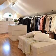 Apartment Therapy Attic Bedroom by And Large Mosey In Attic Closet Features A White Middle