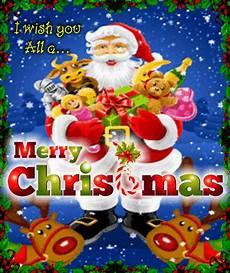 santa greets you a merry christmas free santa claus ecards 123 greetings