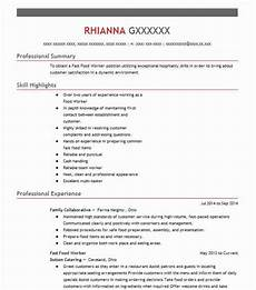 fast food resume entry level fast food resume template 2018 s top format 2019 03 02