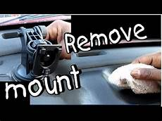 how remove dash on a how to remove mount from dashboard youtube