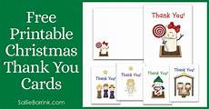 free printable christmas thank you cards sallieborrink com