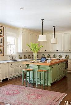Painted Kitchen Furniture 17 Colorful Painted Kitchen Cabinets Photos