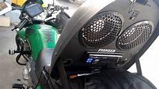 4 en 1 moto audio para motos tuning