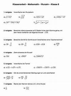 wurzelterme vereinfachen 220 bungen matheaufgaben wurzeln