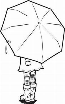 Gratis Malvorlagen Regenschirm Craft Pin Auf Templates