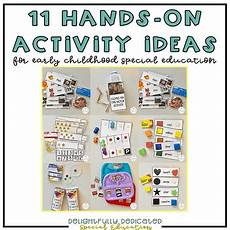 11 hands on activity ideas for early childhood special