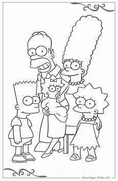 Ausmalbilder Zum Ausdrucken Kostenlos Simpsons Die Simpsons Ausmalbilder Zum Ausdrucken