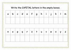 capital letter worksheets for preschool 23578 capital letter worksheet by missyrobinson teaching resources tes