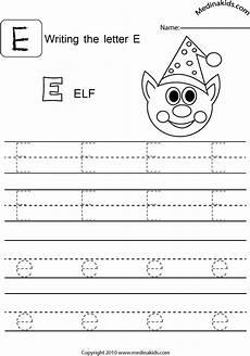 alphabet worksheets letter e 24096 medinakids learn write and lower letters practice letter e
