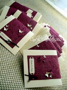 Hochzeitskarten Selber Machen - einladungskarten zur hochzeit mit schmetterlingen