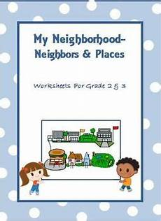 places in my neighbourhood worksheets 16015 my neighborhood worksheets for grade 2 3 grade 2 places and the o jays