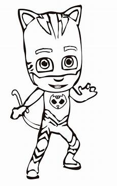 pj masks coloring pages with images pj masks coloring