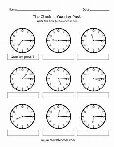 half past time worksheets for grade 1 3568 telling time quarter past the hour worksheets for 2nd graders